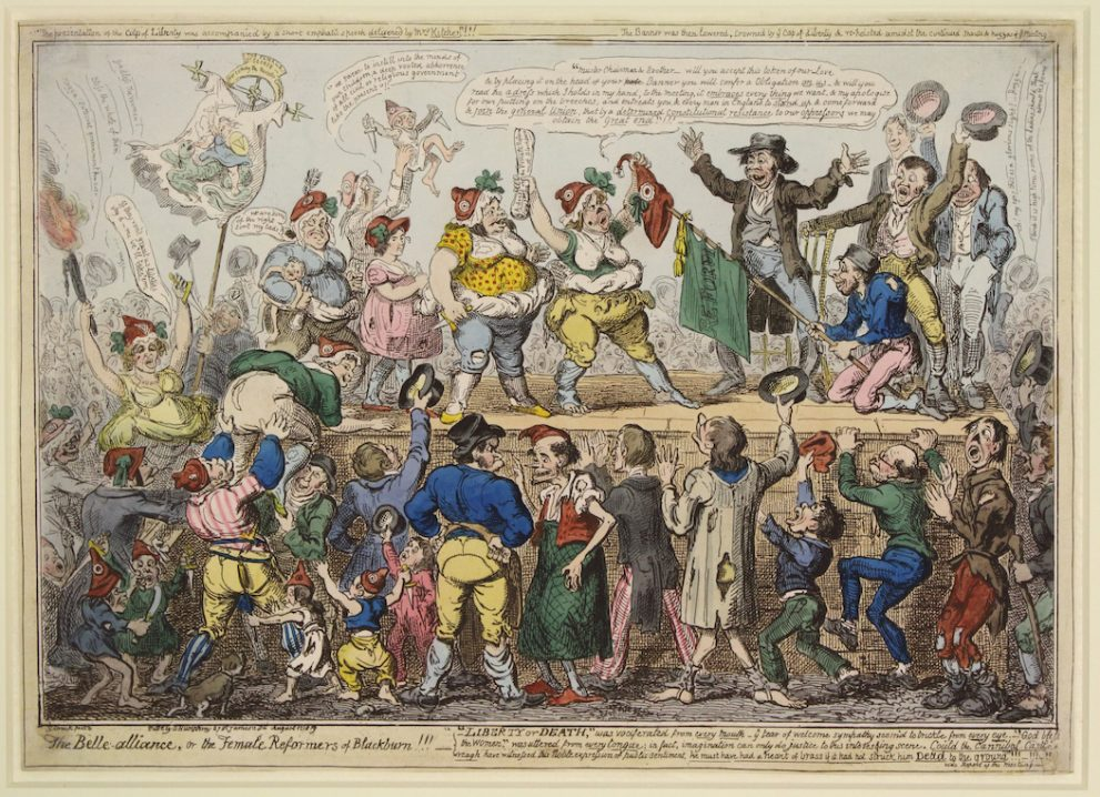 'Disrupt? Peterloo and Protest' exhibition opens