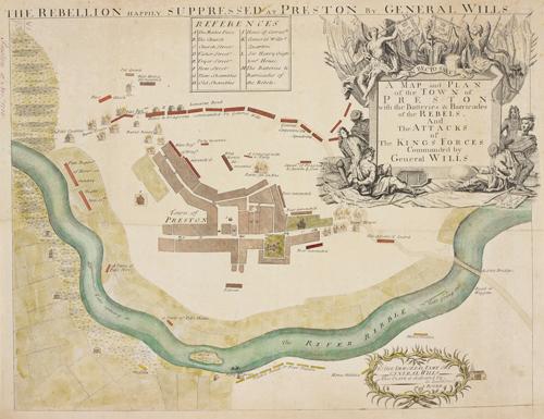 The Battle of Preston, 1715