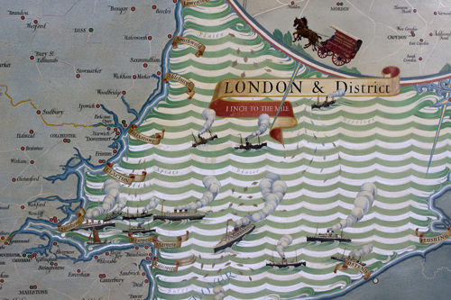 Rare map from WHSmith archive sells for £50,000