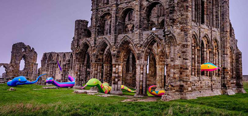 Whitby Abbey reopens after revamp