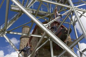 Aerial dance show explores Cornish mining woman's story